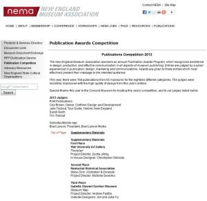 2013.NEMA.Pulication-Awards